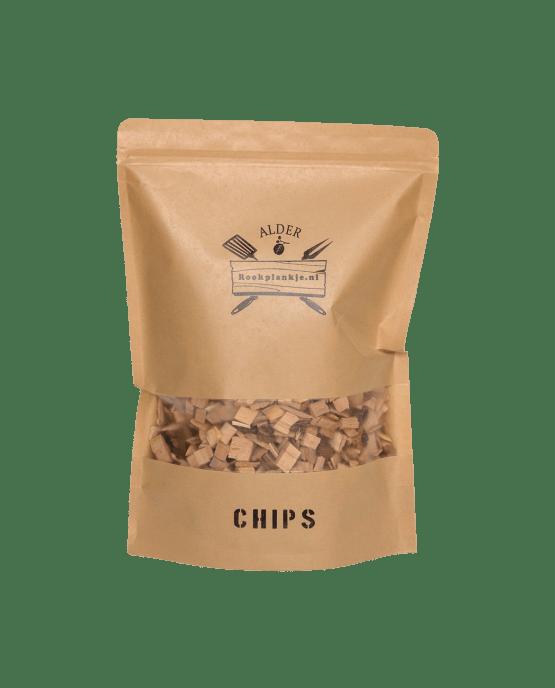 Alder Chips | Rookplankje.nl