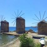Chios in Griechenland: Mit dem Mofa durch den Norden
