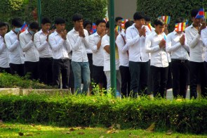 prozession könig kambodscha
