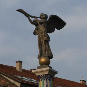 Der Engel von Uzupis ist das Wahrzeichen der kleinen Gemeinschaft.