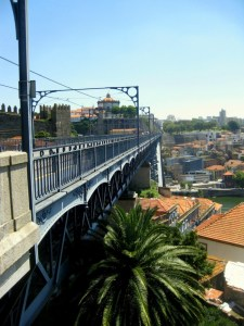 Ponte Dom Luis I. bridge in Porto