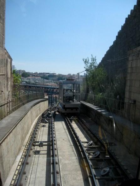 Zahnradbahn in Porto