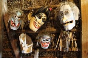 karnevalsmasken in litauen
