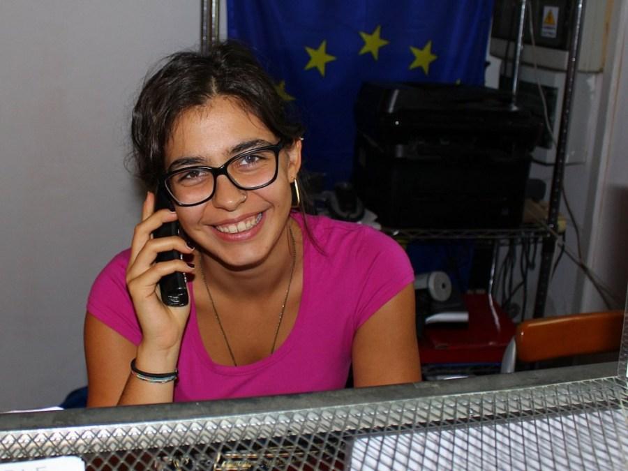 Marta war nicht nur unsere Rezeptionistin. Wir haben auch einiges von ihr über Italien gelernt. Grazie!