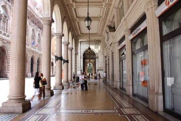 Auch die Galerien entlang der Boulevards sind sehenswert.