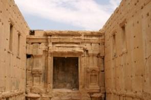 Der Baal-Tempel war das wichtigste Bauwerk im antiken Palmyra und hatte anders als die meisten römischen Tempel sogar Fenster.