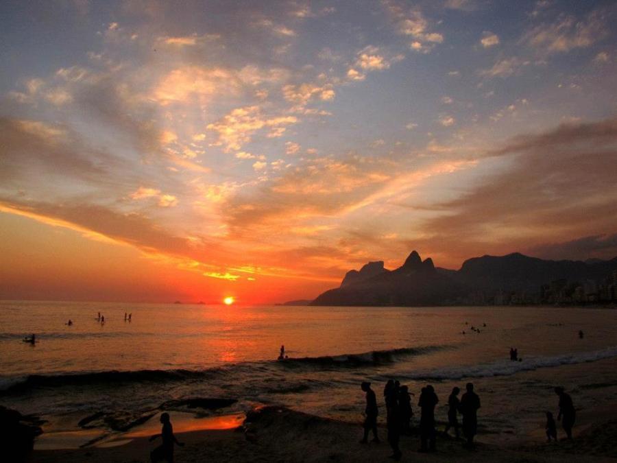 Ipanema, Rio de Janeiro, Rio, Brasilien, Strand