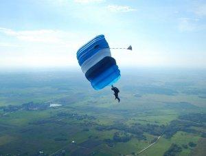 fallschirmspringen litauen, vilnius, skydiving
