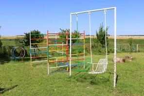 An der Vogelbeobachtungsstation in Durankulak gibt es auch einen Spielplatz