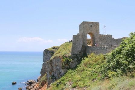 Am Kap Kaliakra gibt es eine mittelalterliche Festung.