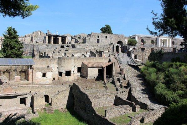 Pompeji Eingang Ruinenstadt Ausgrabungsstädte