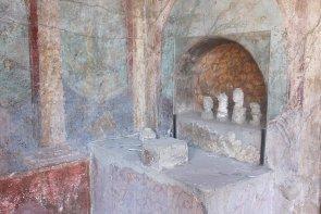 Pompeji Haus Altar
