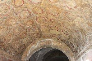 Decken Malereien Stuck Antike Rom Pompeji