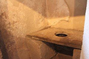 Latrine Pompeji Ruinenstadt römische Toilette