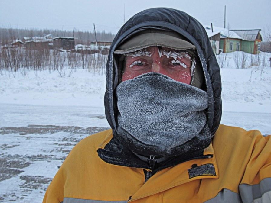 Mit Erfrierungen macht das das Trampen irgendwie keinen Spaß.