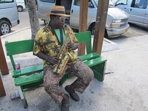 Musiker gibt es auf den Bahamas aber auch einige.