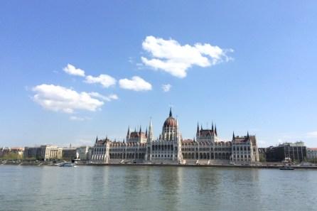 Das Parlamentsgebäude von Ungarn sieht eigentlich immer toll aus.