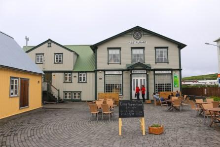 Ein Restaurant in Husavik.