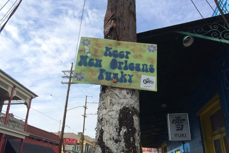 New Orleans ist einfach einzigartig.