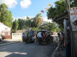 So sieht Busfahren auf Haitianisch aus.
