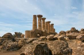 Tal der Tempel Agrigento - Heraklestempel