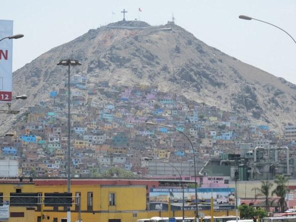 Ansicht von Lima, der Hauptstadt Perus.