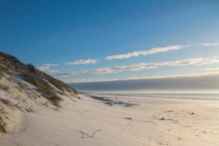 Dänemark Nordseeküste Winter