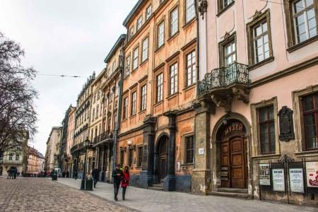 Marktplatz Lemberg Lviv Lwiw Ukraine