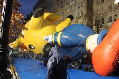The Macy's balloons