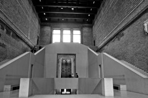 Central stair of Neues Museum, Berlin.