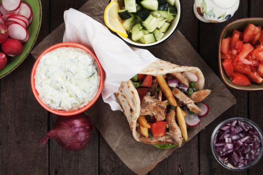 ejemplo de comida turca