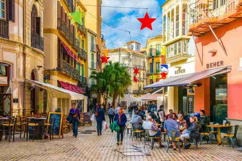 Calle en Málaga