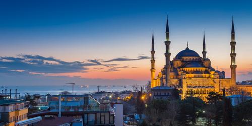 Vista de Turquía