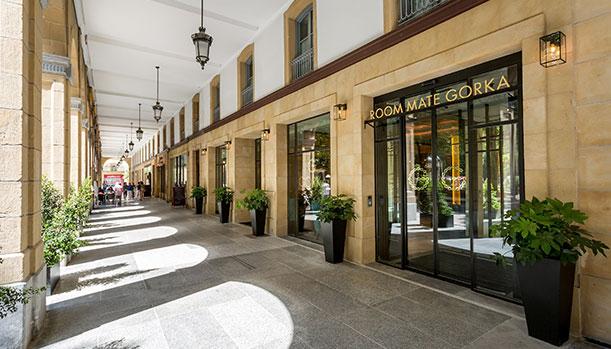 Room Mate Gorka Central Hotel In San Sebastian Guipuzcoa
