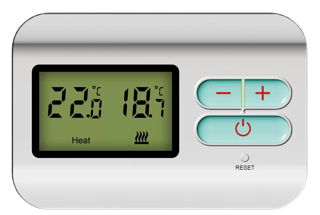 Digital 2 Wire Heat Only Thermostat / Programmable
