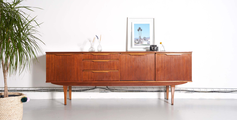 enfilade en teck 1960 style scandinave reservee room 30