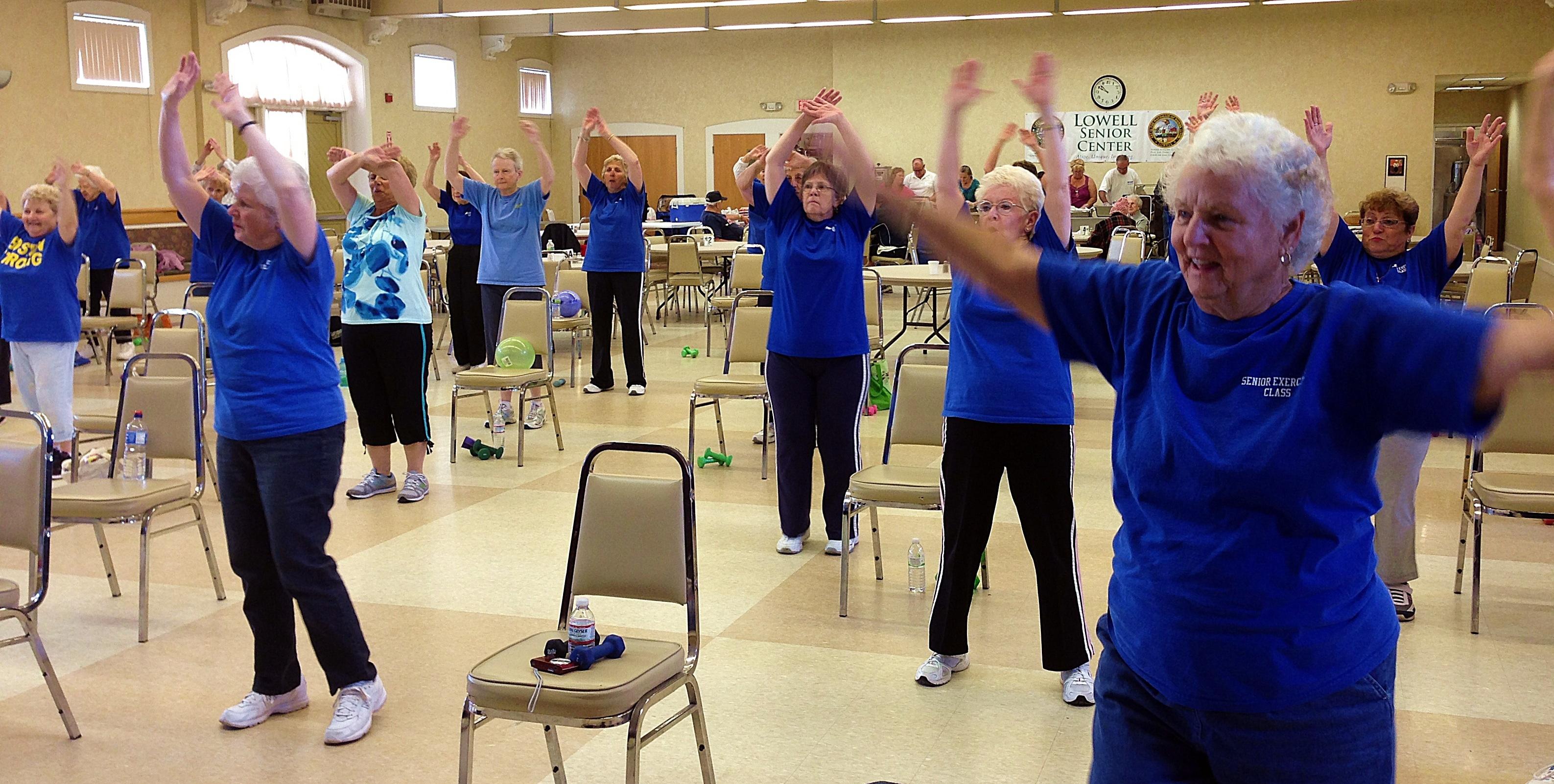 Rita Neal Honored For Keeping Seniors Moving