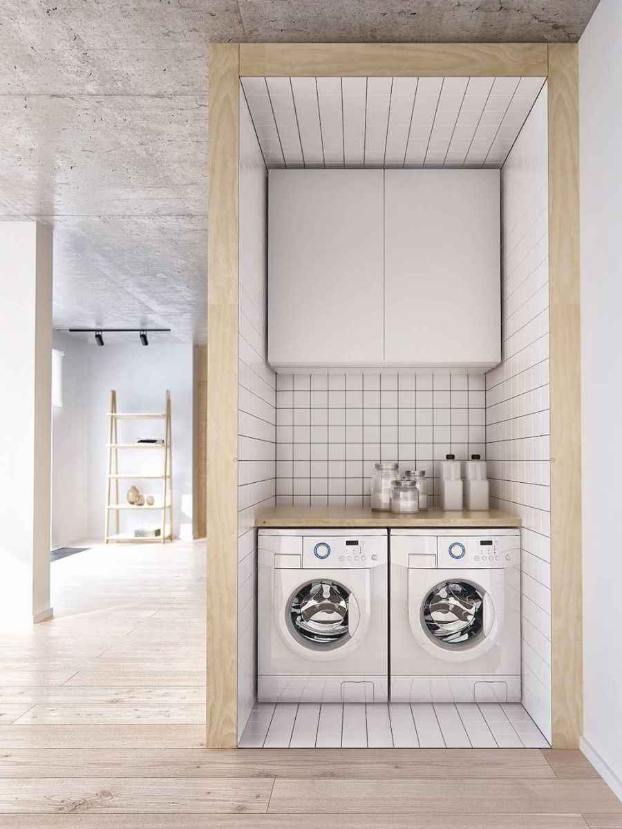 20+ beautiful scandinavian laundry room design ideas for your home (11)