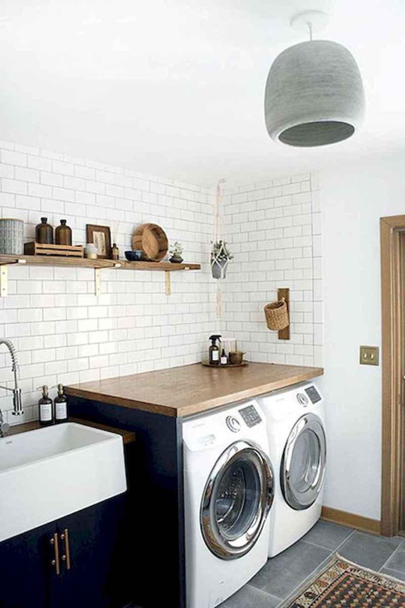 20+ beautiful scandinavian laundry room design ideas for your home (15)