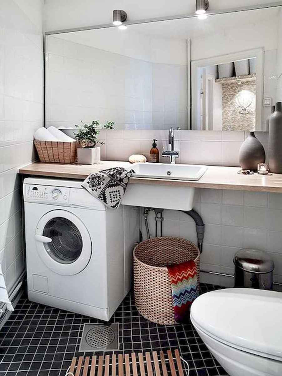 20+ beautiful scandinavian laundry room design ideas for your home (4)
