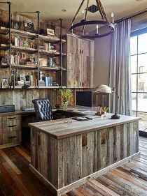 30 home office space with rustic design (19)