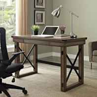 30 home office space with rustic design (22)