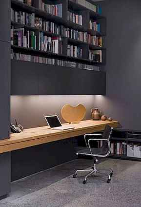 30 home office space with rustic design (29)