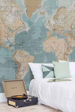40+ great ideas vintage bedroom (43)