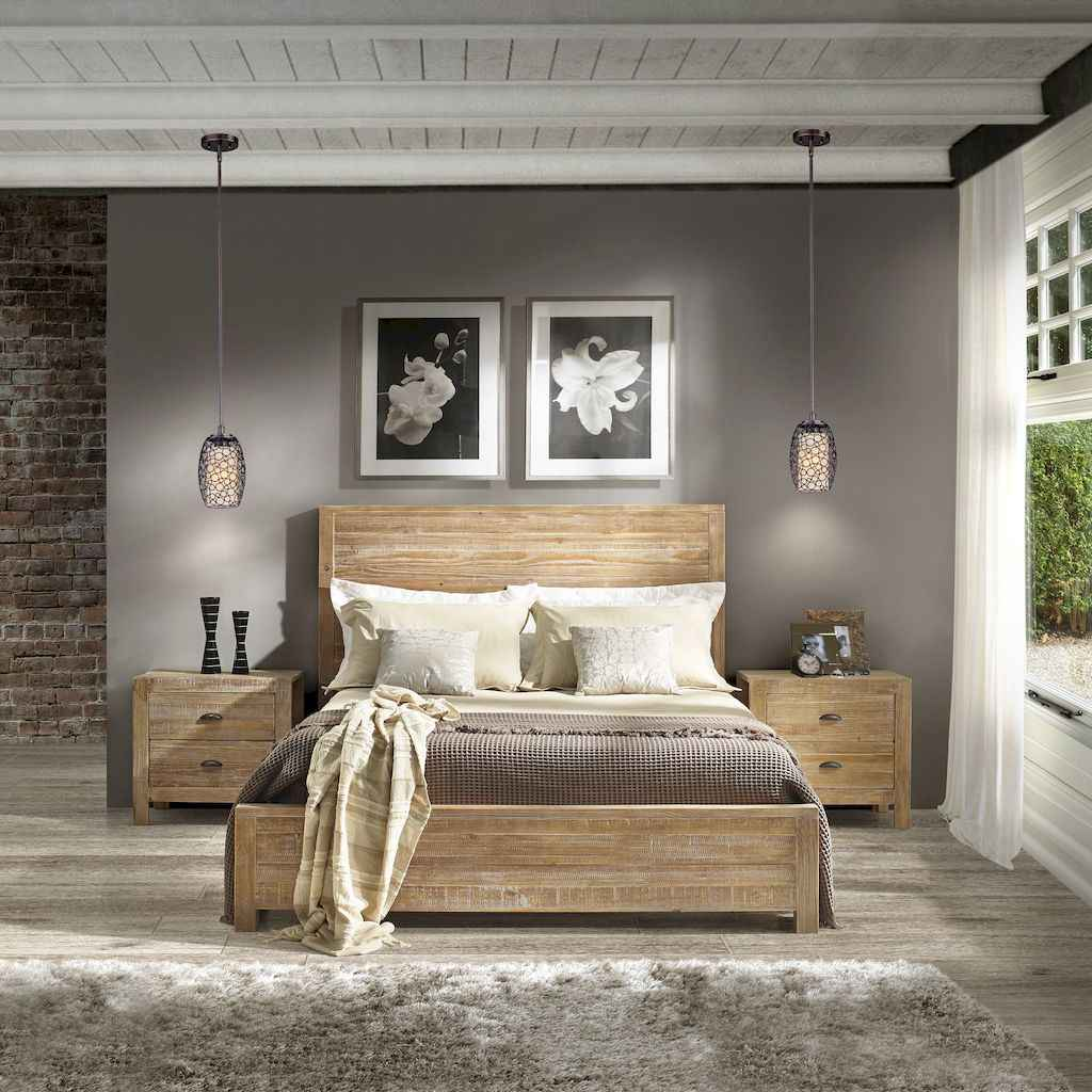 40+ Rustic Bedroom Ideas Decor For Farmhouse Style