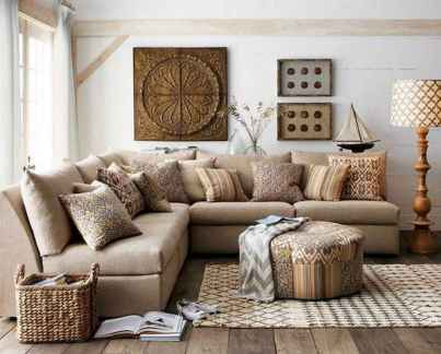 45 amazing rustic farmhouse style living room design ideas (19)