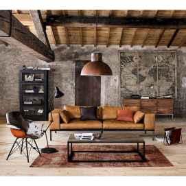 45 amazing rustic farmhouse style living room design ideas (36)