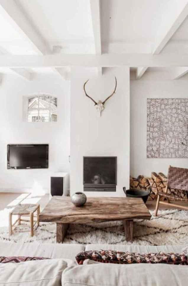 45 amazing rustic farmhouse style living room design ideas (45)