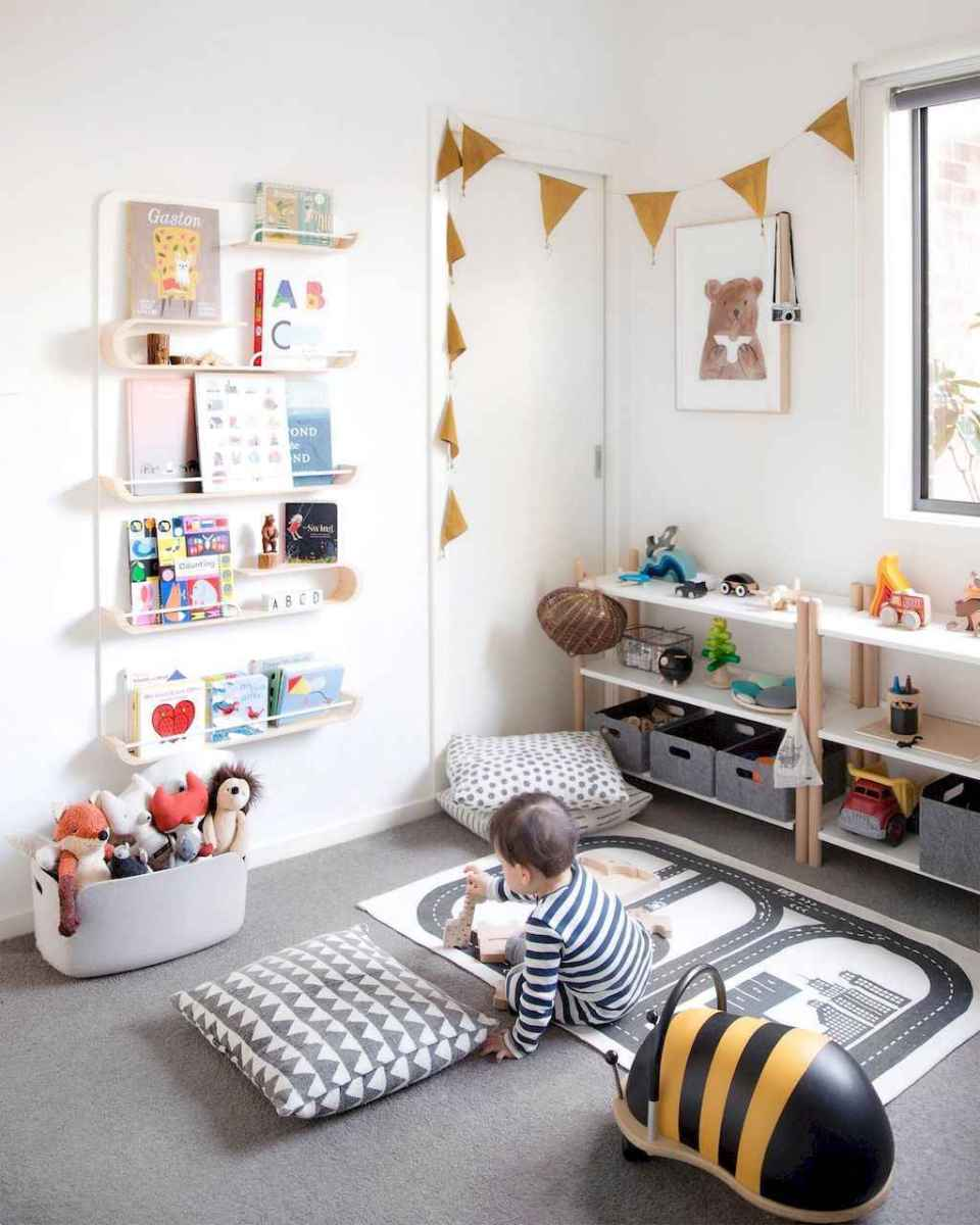 50 ideas for organizing playrooms & kid's spaces (1)