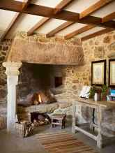 50+ most amazing rustic fireplace designs ever (17)